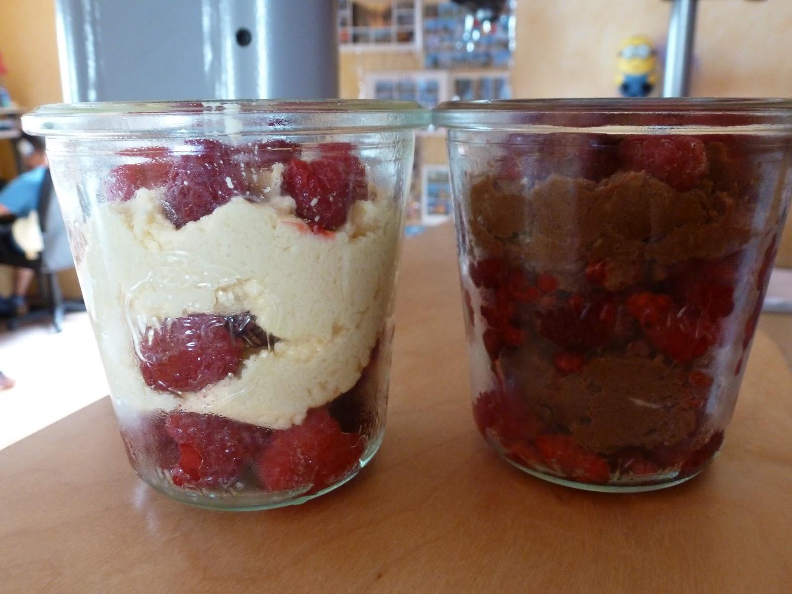 Keks kuchen im glas