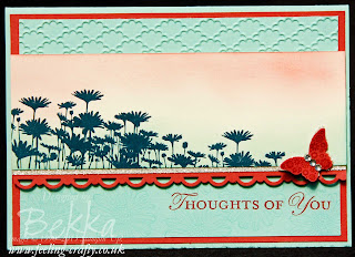 Best of Flowers Card by UK Stampin' Up! Demonstrator Bekka Prideaux - lots of lovely ideas on her blog