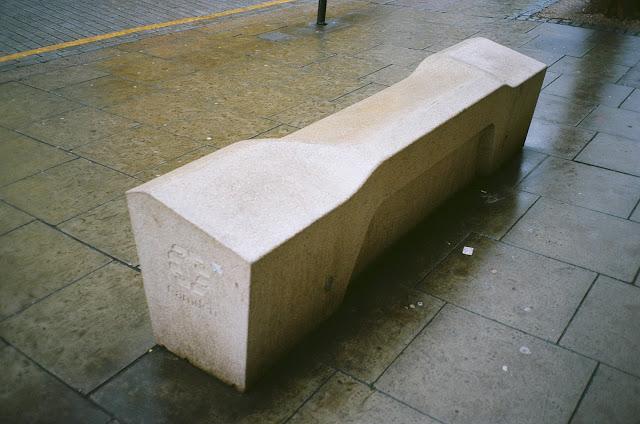 London bench Holborn Camden