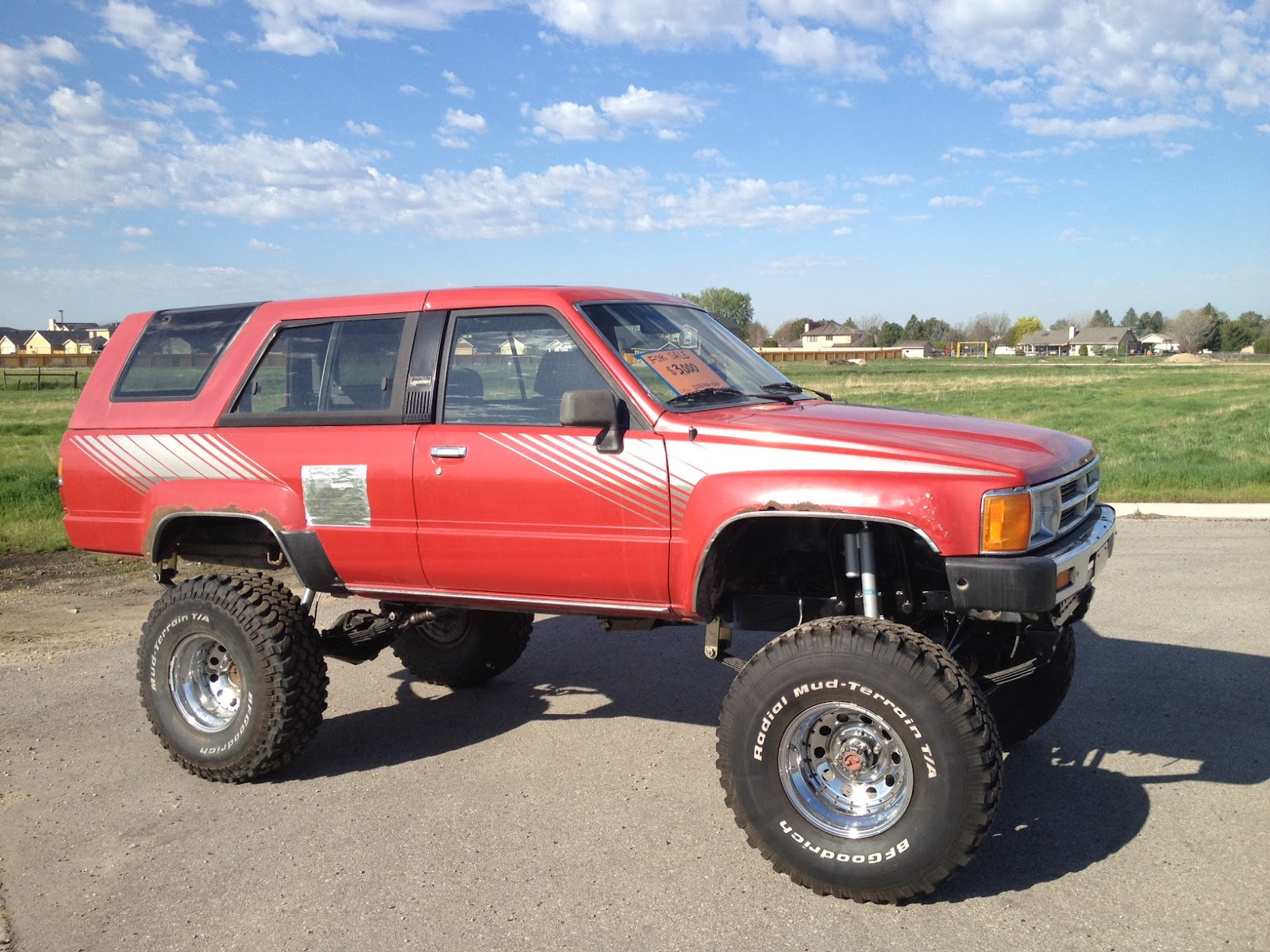 Middle Class Chops Boise 1988 Toyota 4Runner Rock Crawler SAS For Sale