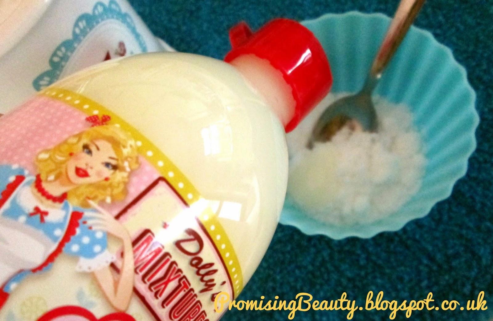Dollys mixtures, sugar, DIY body scrub