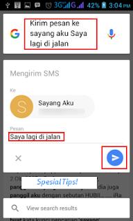 Cara Menggunakan Google Now Untuk Melakukan Panggilan dan Mengirim Pesan Singkat