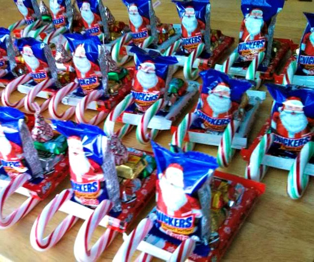 DIY Candy Santa Sleighs (Great Classroom Treats & More For Kids ...