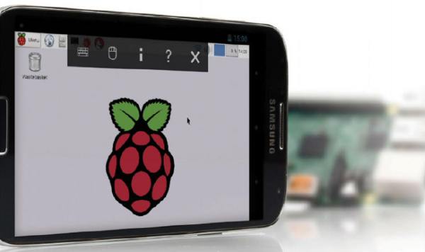 Use an Android device as a Raspberry Pi screen