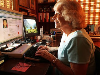 Social Networking is popular amongst Seniors
