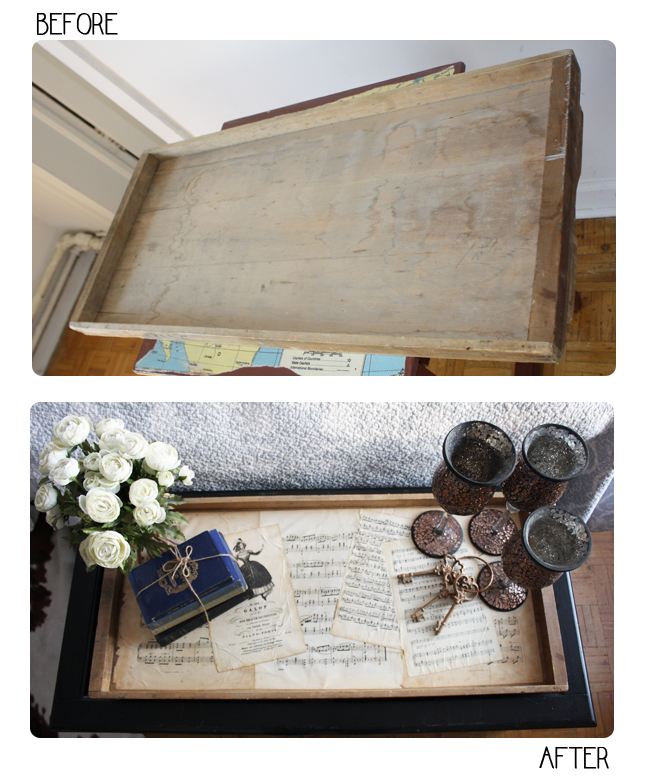 Isn 39 T That Charming Diy Wooden Coffee Table Tray