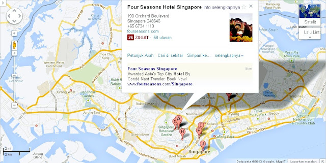 Location Map of Four Seasons Hotel Singapore,Four Seasons Hotel Singapore Location Map,Four Seasons Hotel Singapore Accommodation Attractions Map Photo,four seasons hotel regent catering park singapore brunch park special rates price discount