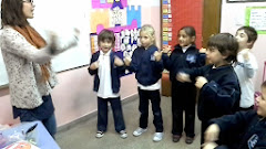 1º - CANTANDO EN CLASE DE BUILDING UP