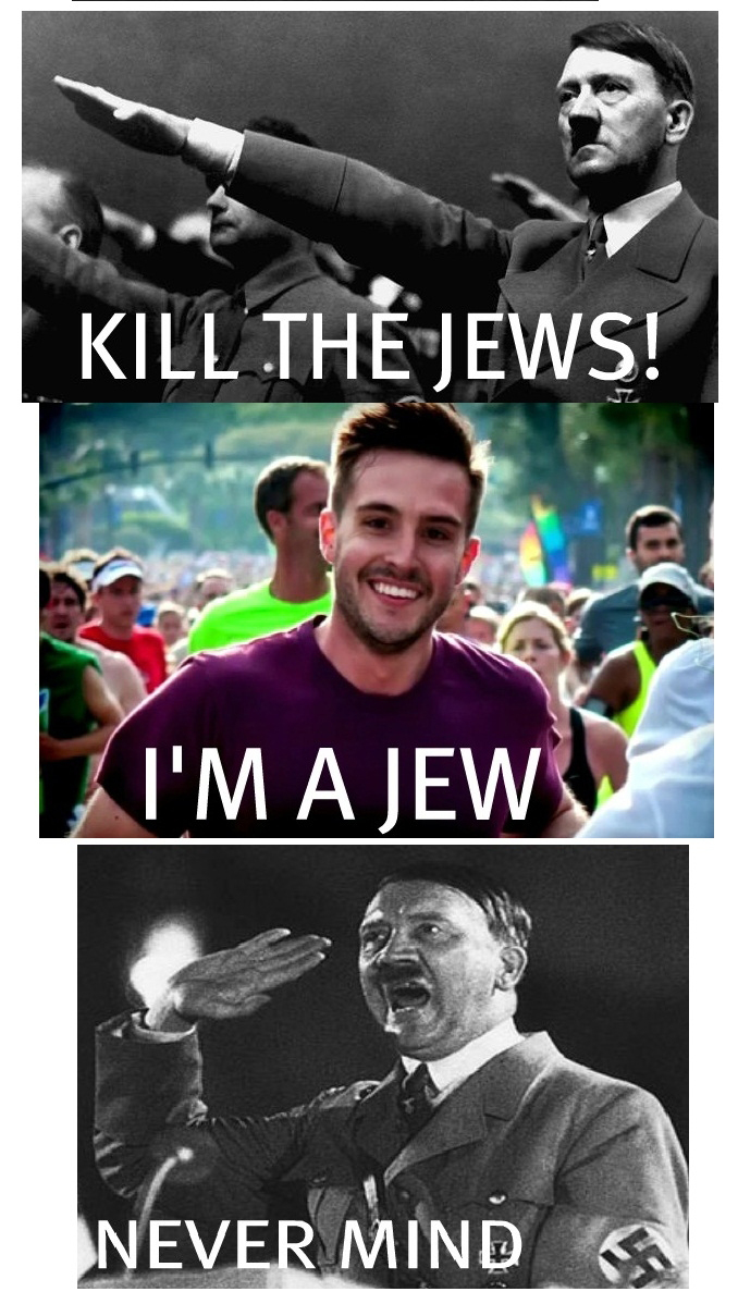 Photogenic Guy vs Hitler