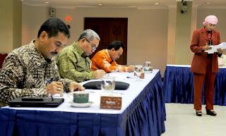 Suasana Tes Seleksi calon Sekretaris Jenderal (Sekjen) Komisi Pemilihan Umum (KPU)
