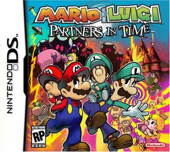 Mario & Luigi Partners in Time - NDS ROM - Multi - Deutsch