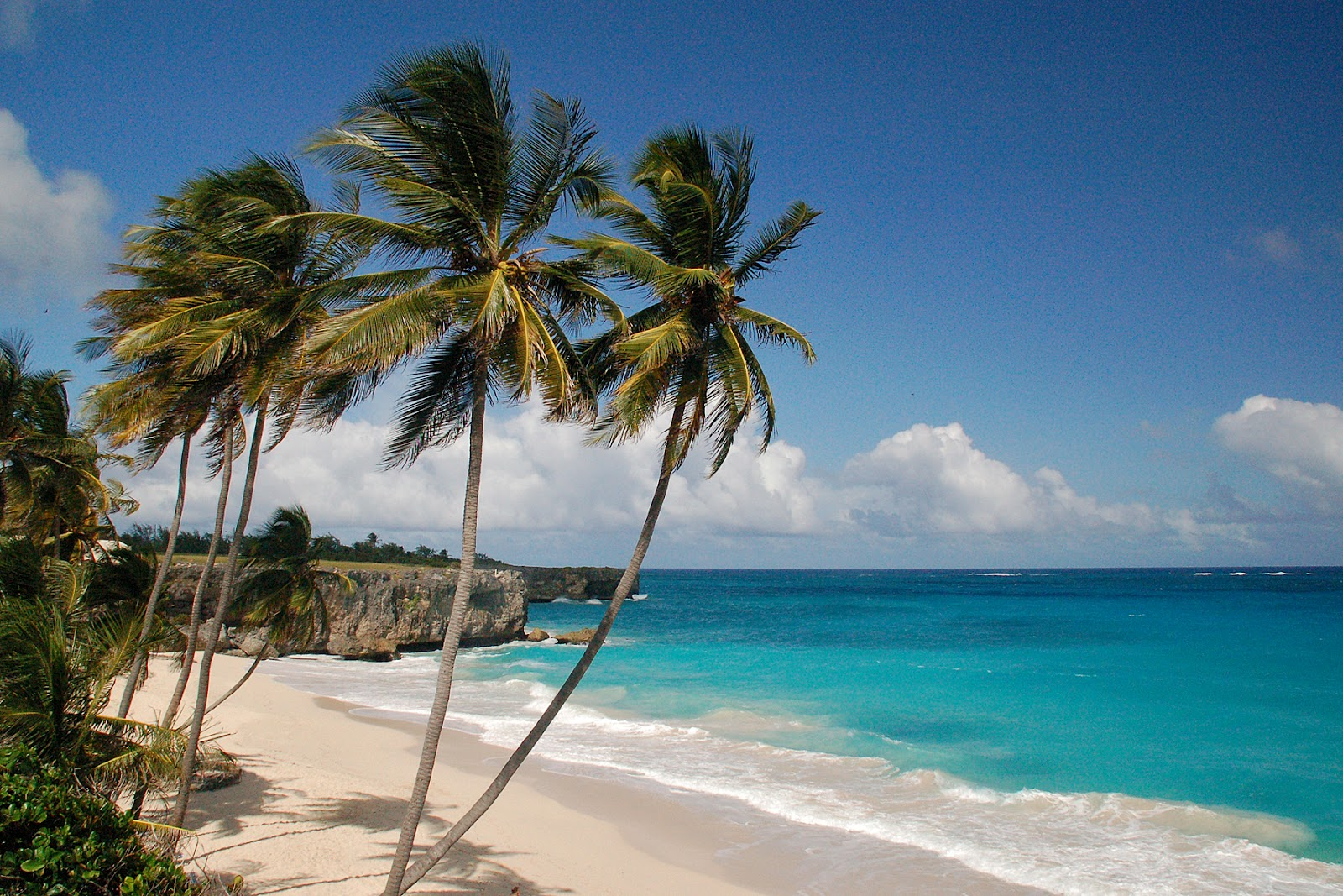 Bottom Bay Beach Island Of Barbados