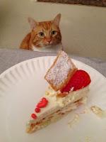 Ripple sees cake....