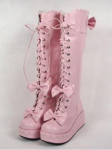 pink fashion lolita clothing