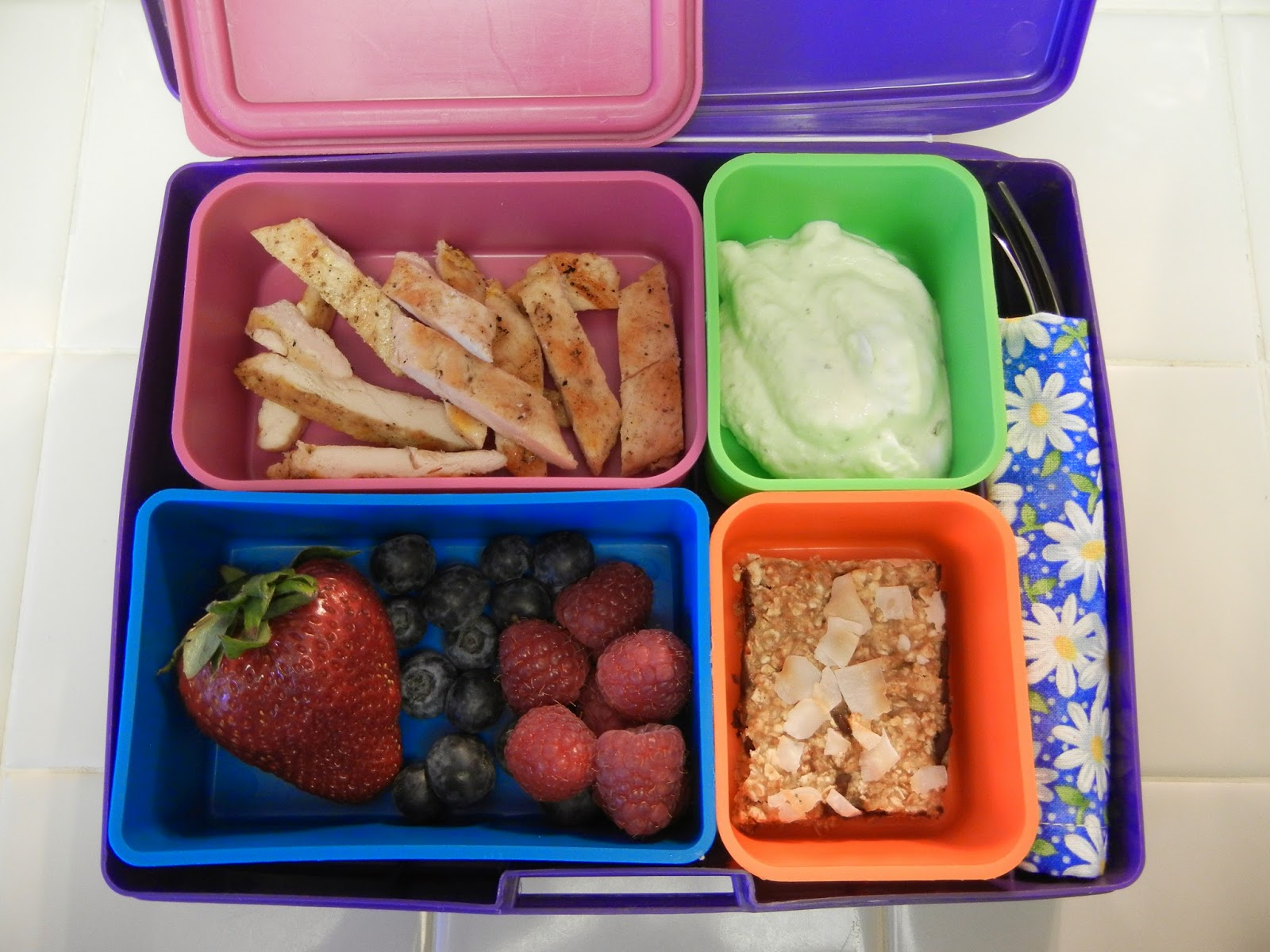 Chicken+Berries+Bento+Lunch+Eggface Weight Loss Recipes July is National Picnic Month! A Bevy of Bento Box Lunches to Celebrate.
