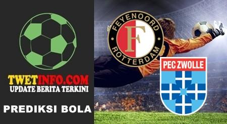 Prediksi Feyenoord vs PEC Zwolle, KNVB 25-09-2015