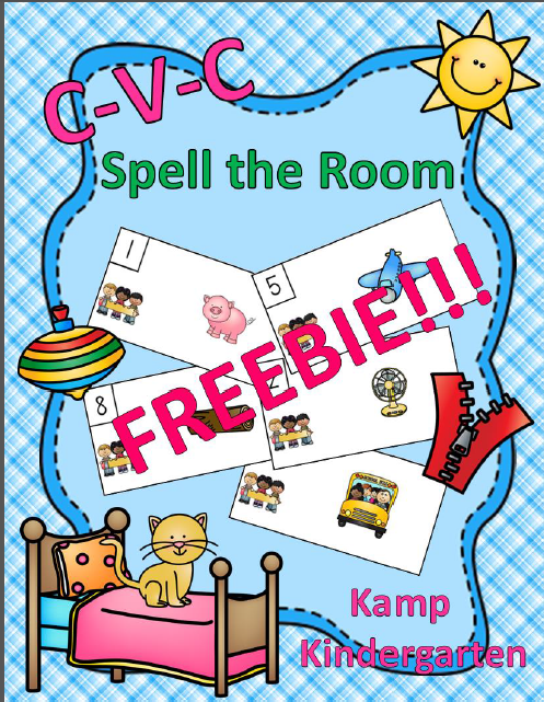 https://www.teacherspayteachers.com/Product/CVC-Spell-the-Room-FREEBIE-1672409
