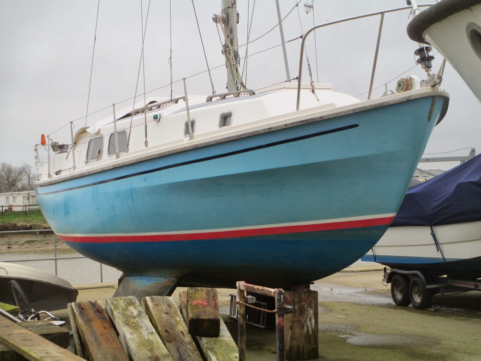 Yacht survey, Westerly Berwick in Littlehampton