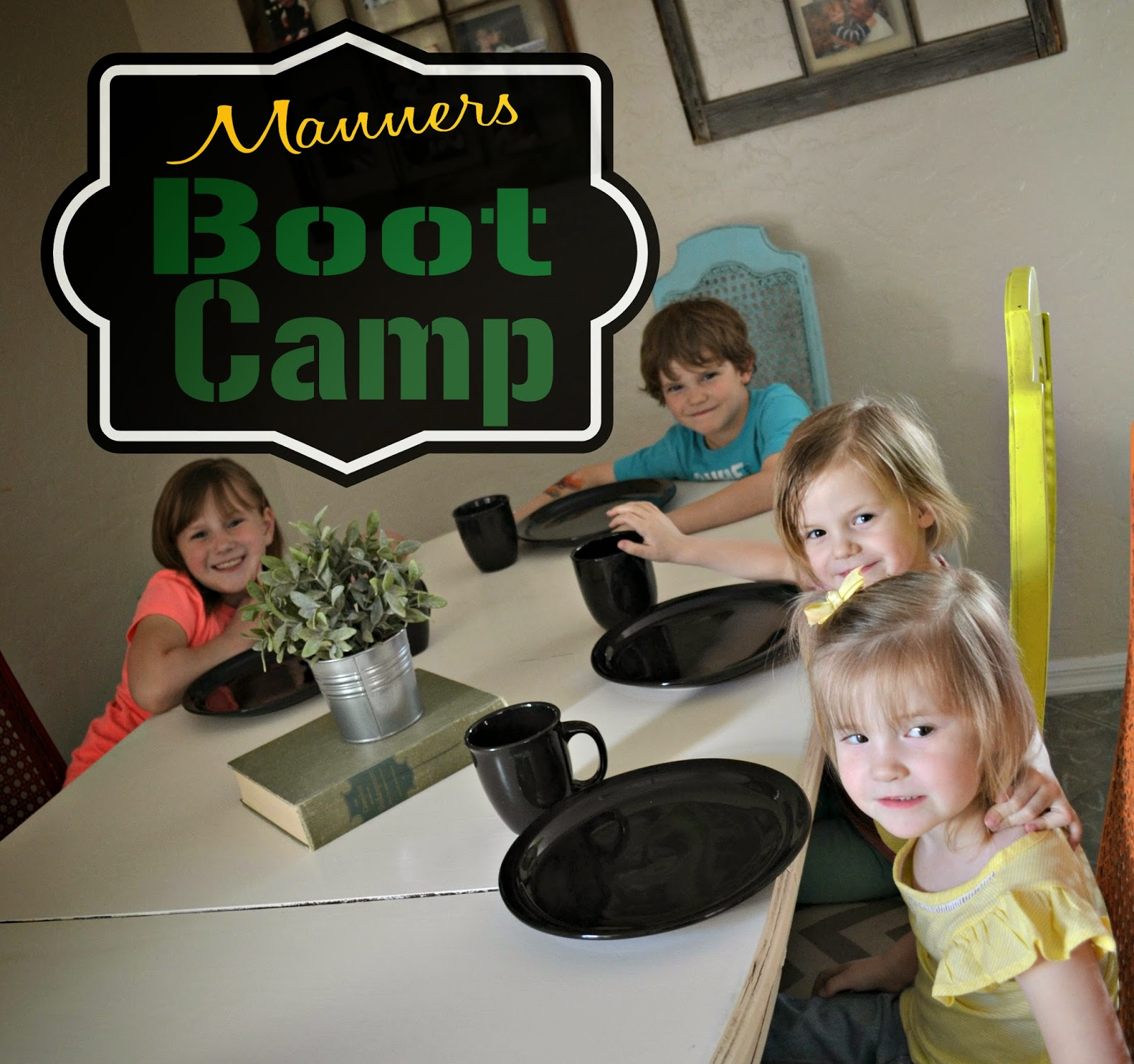 Potlucks on the Porch: Manners Boot Camp {A Fun Way to ...
