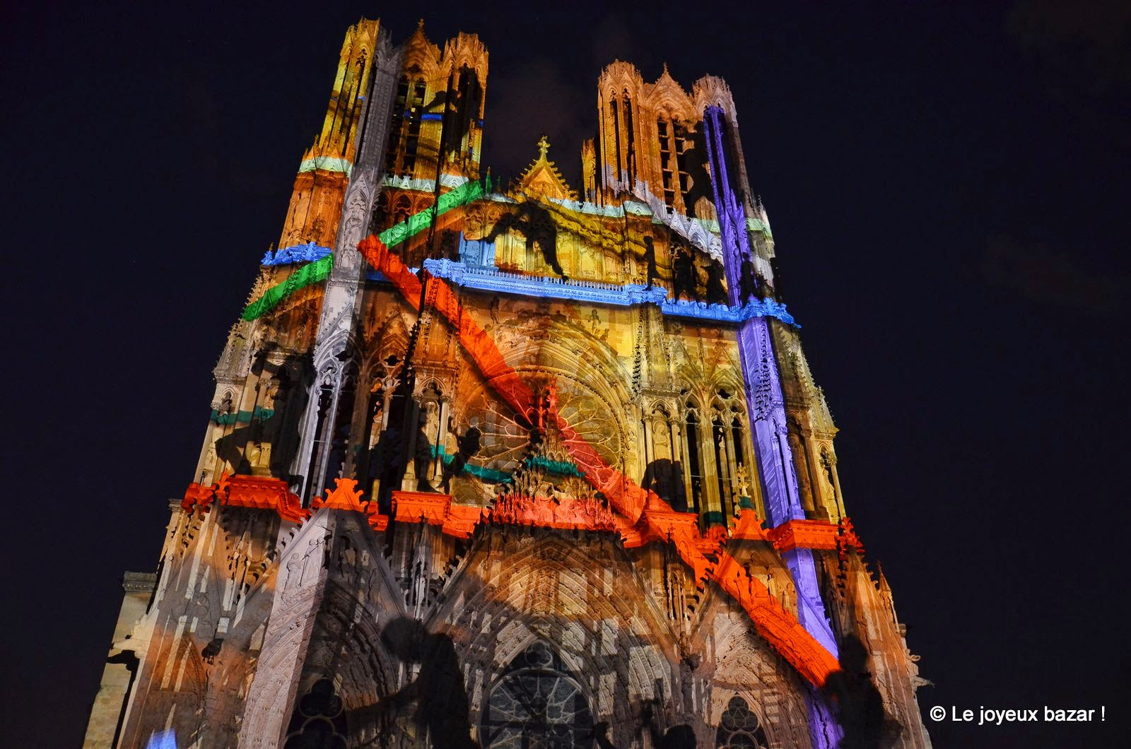 Reims Cathedrale Lumiere Reims Cathédrale Rêves de
