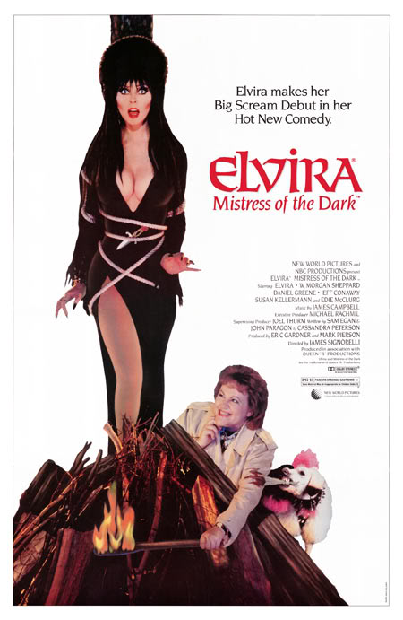 mi idola Elvira Mistress of the Dark