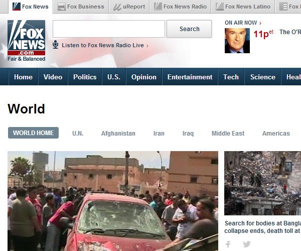 World News : Fox News