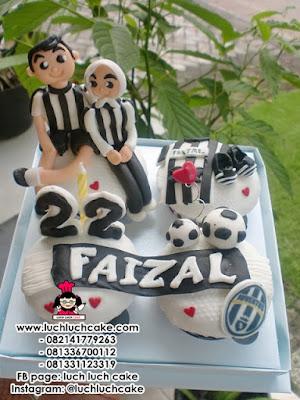 Cupcake Juventus Daerah Surabaya - Sidoarjo
