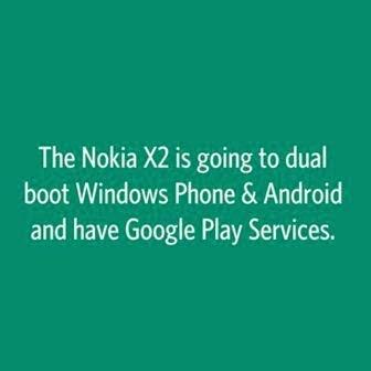 Rumor: Nokia X2 mendukung dual boot Windows Phone dan Android