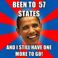 Image result for obama 57 states