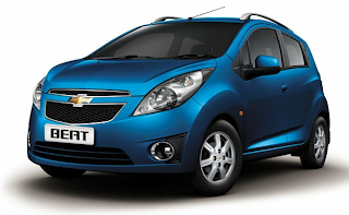 chevrolet beat one of the top 10 cars in India
