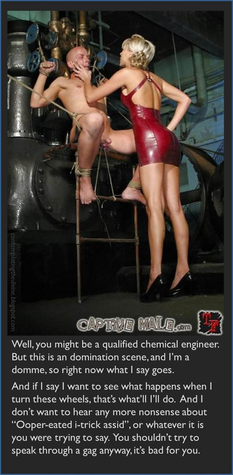 Domme chemical scene
