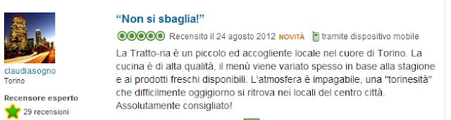 Tratto-ria Mama Licia Torino Opinioni