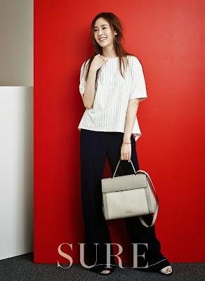 Sung Yuri - Sure Magazine April Issue 2015