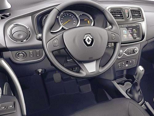 تفاصيل وصور رينو لوجان الشكل الجديد Renault Logan 2014