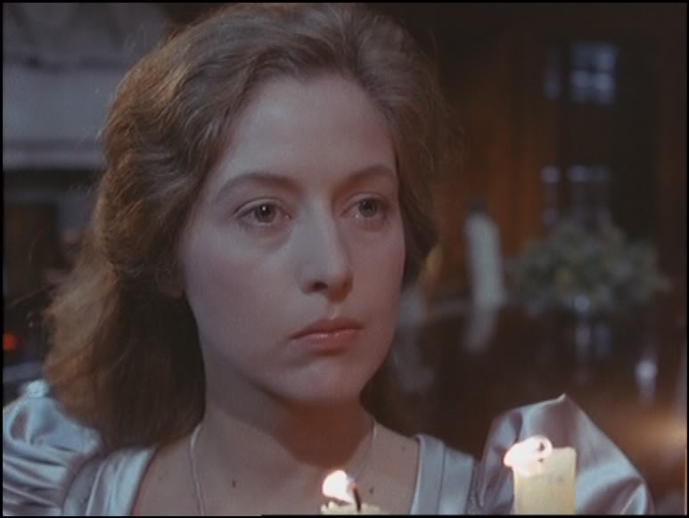 Anne Louise Lambert as Lady Mary Brackenstall in the episode The Abbey Grange (1986)