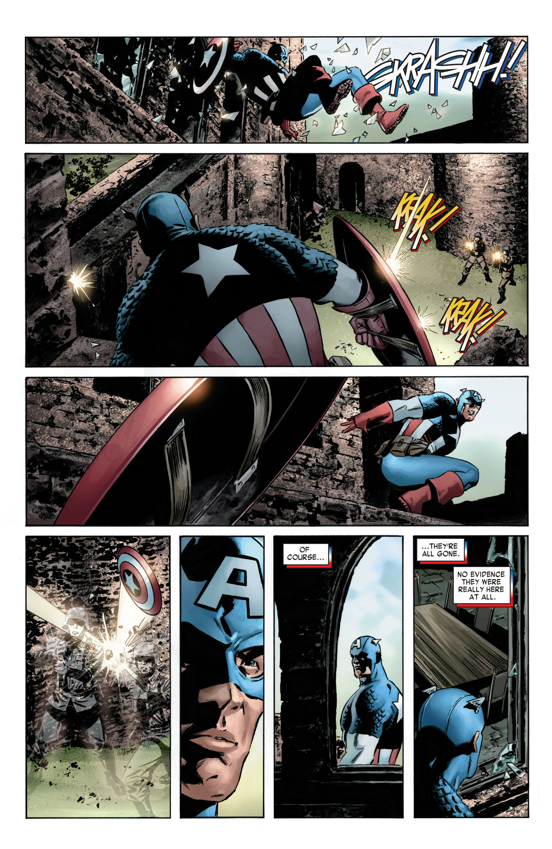 Captain America (2005) Issue #6 #6 - English 10