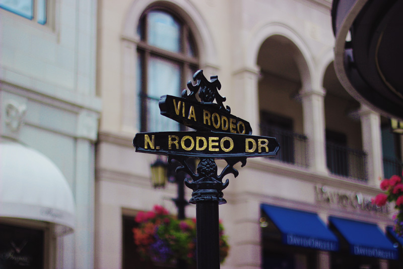 rodeo drive sign beverly hills aimerose