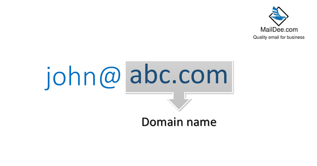 how to get a email domain name