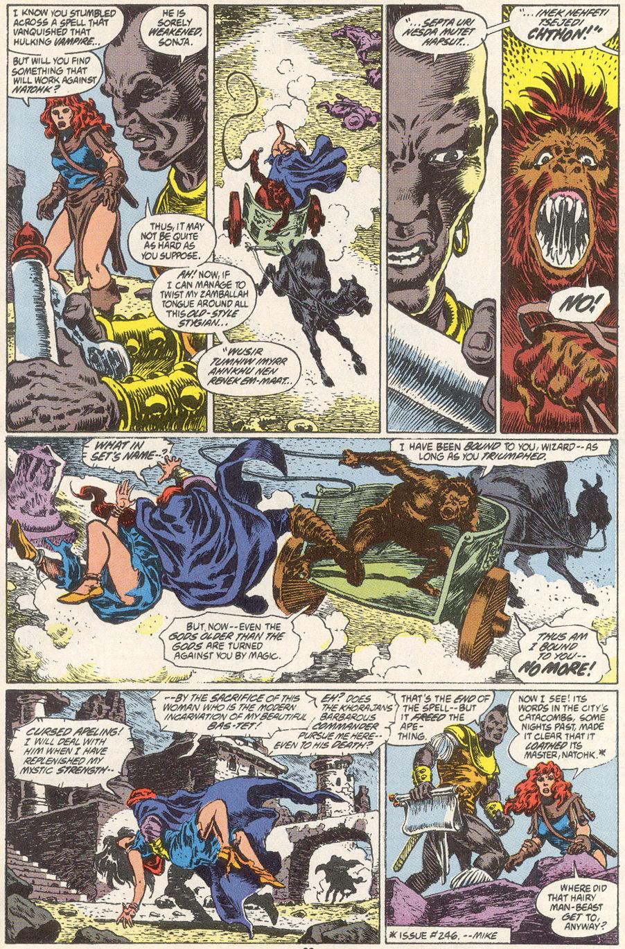 Conan the Barbarian (1970) Issue #249 #261 - English 16