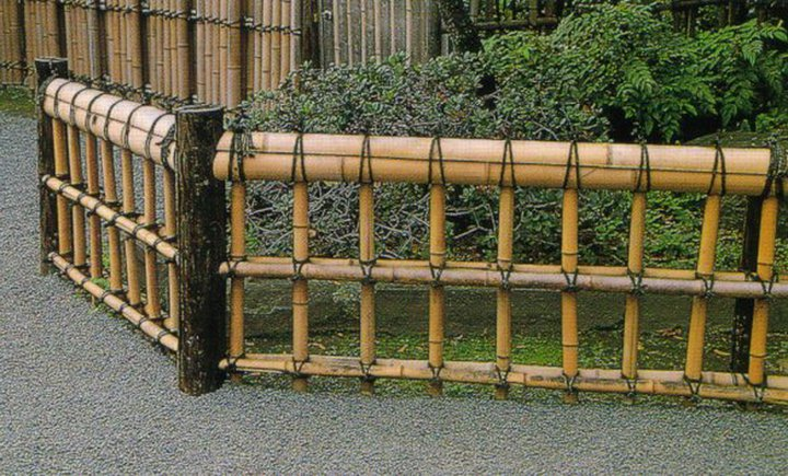 Jardins maravilhosos....: cercas de bambu...