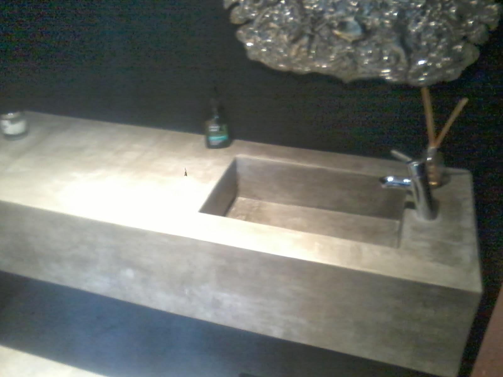 Baños Con Tina De Cemento:Mesadas de cemento para baños y cocinas Estas se hacen a pedido y a