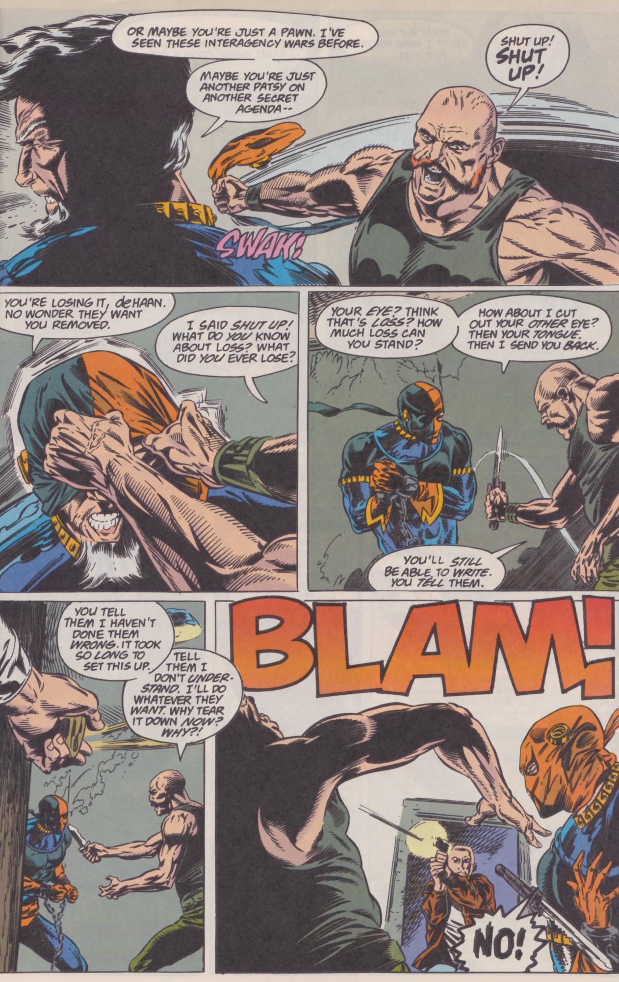Deathstroke (1991) Issue #22 #27 - English 20