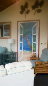 Wall Murals: Sunroom Beach Front Property