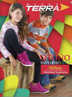 catalogo terra 2013 zapatos de niños O-I