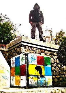 Arte Urbano: Satán en las paredes