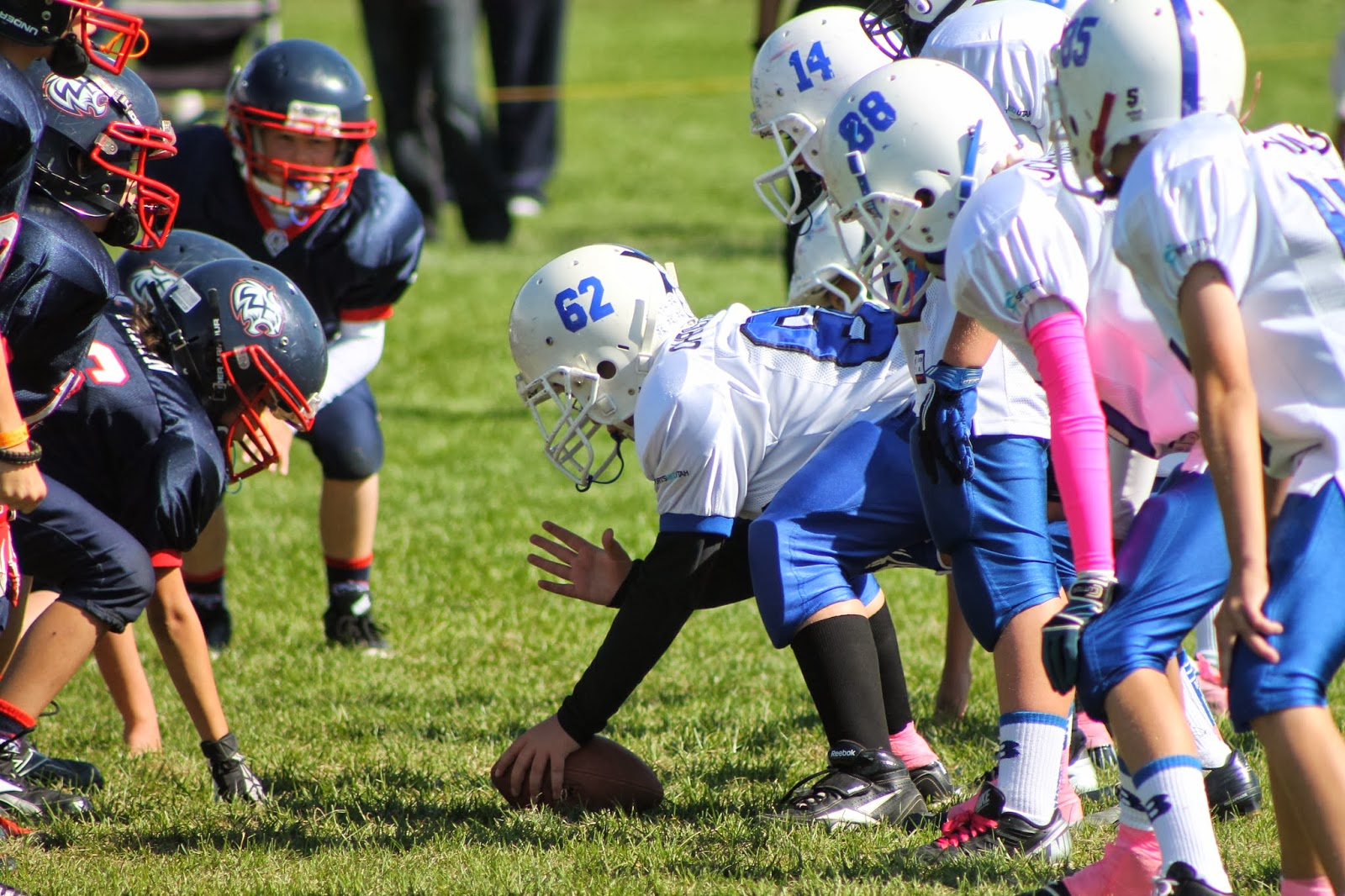 Pee - Wee Football Specific Information