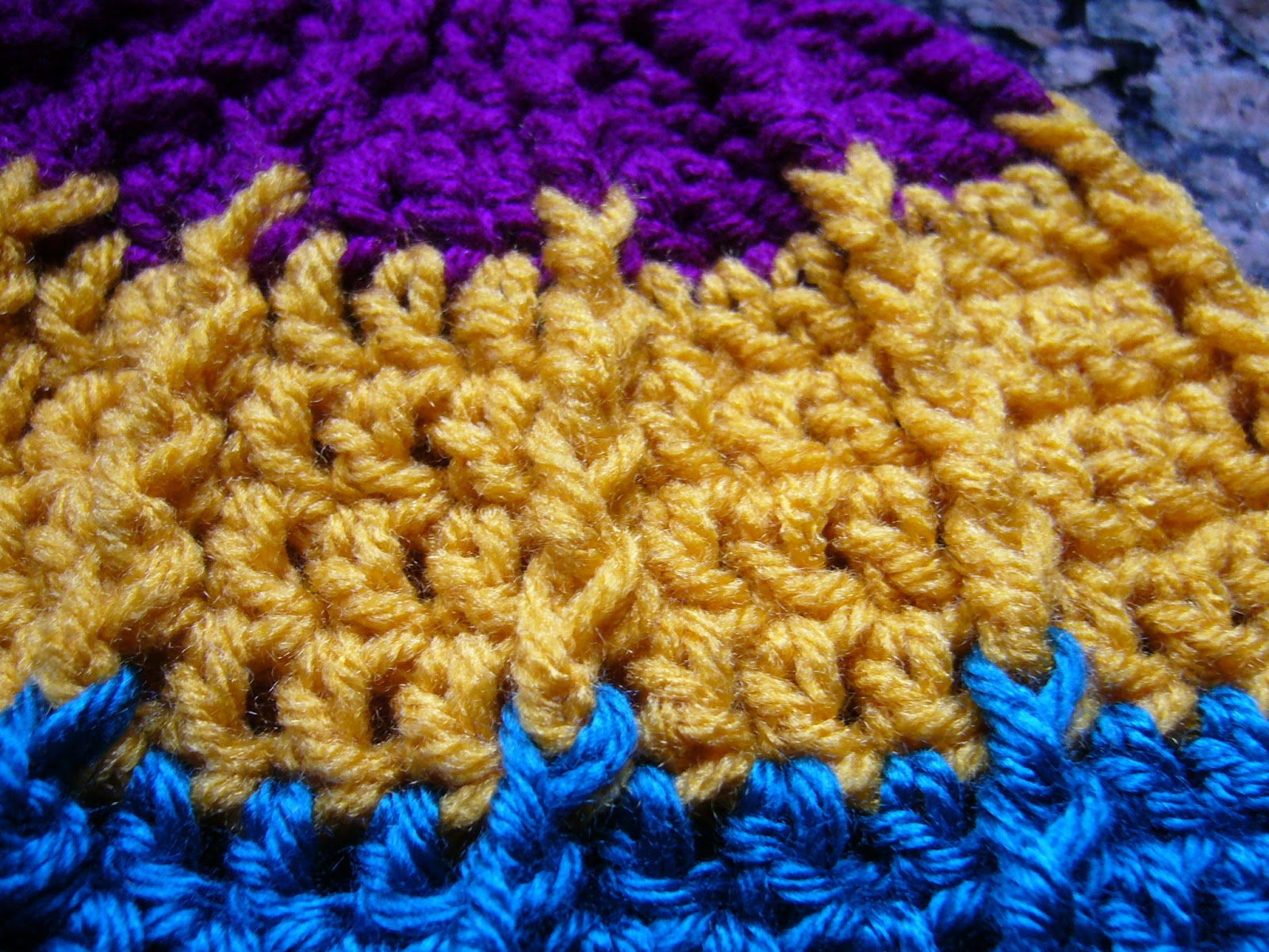 Simply Shoeboxes: Double Crochet Front Post Crochet Scarf for OCC ...