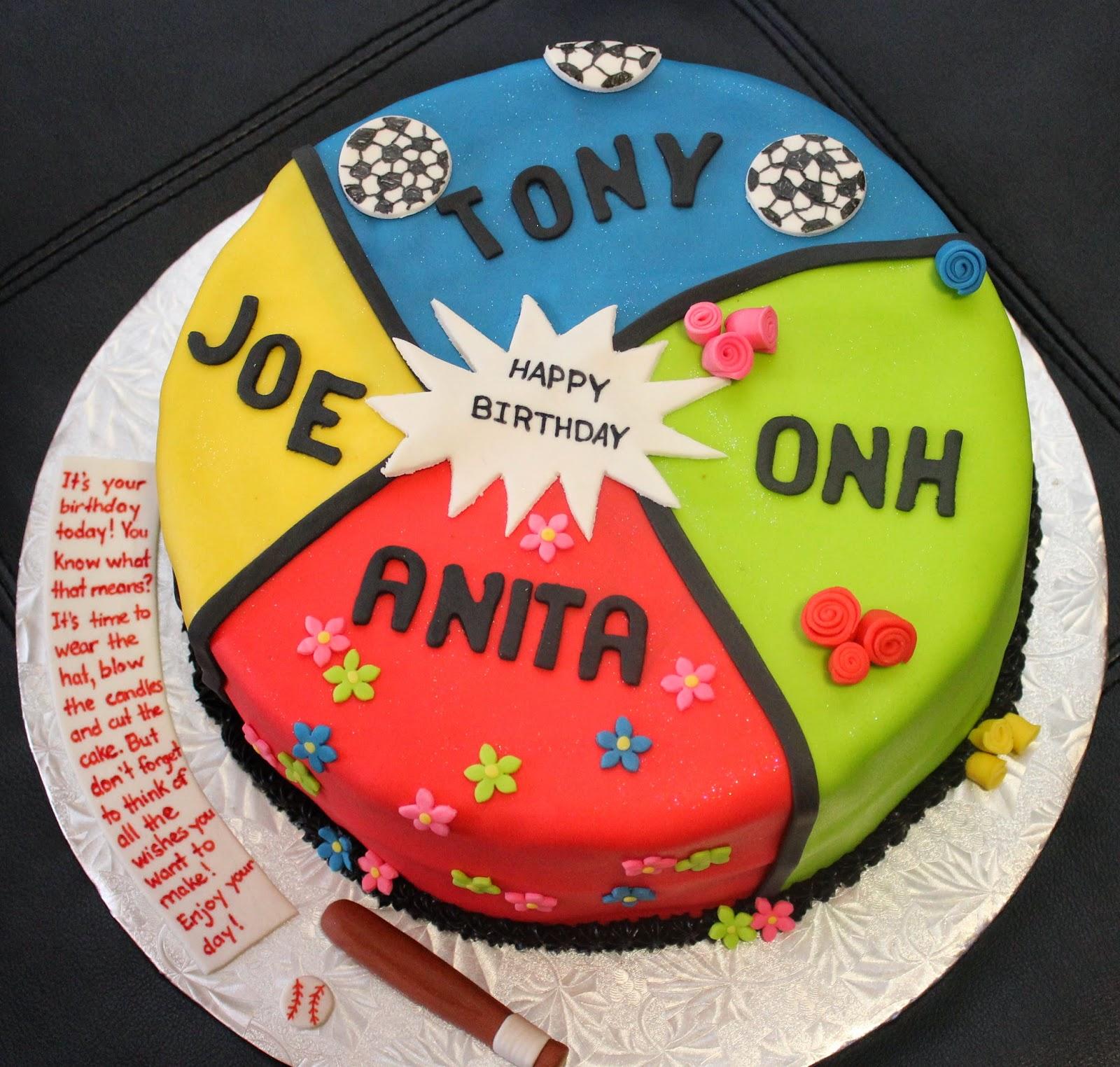 Love Dem Goodies Multiple People Birthday Cake