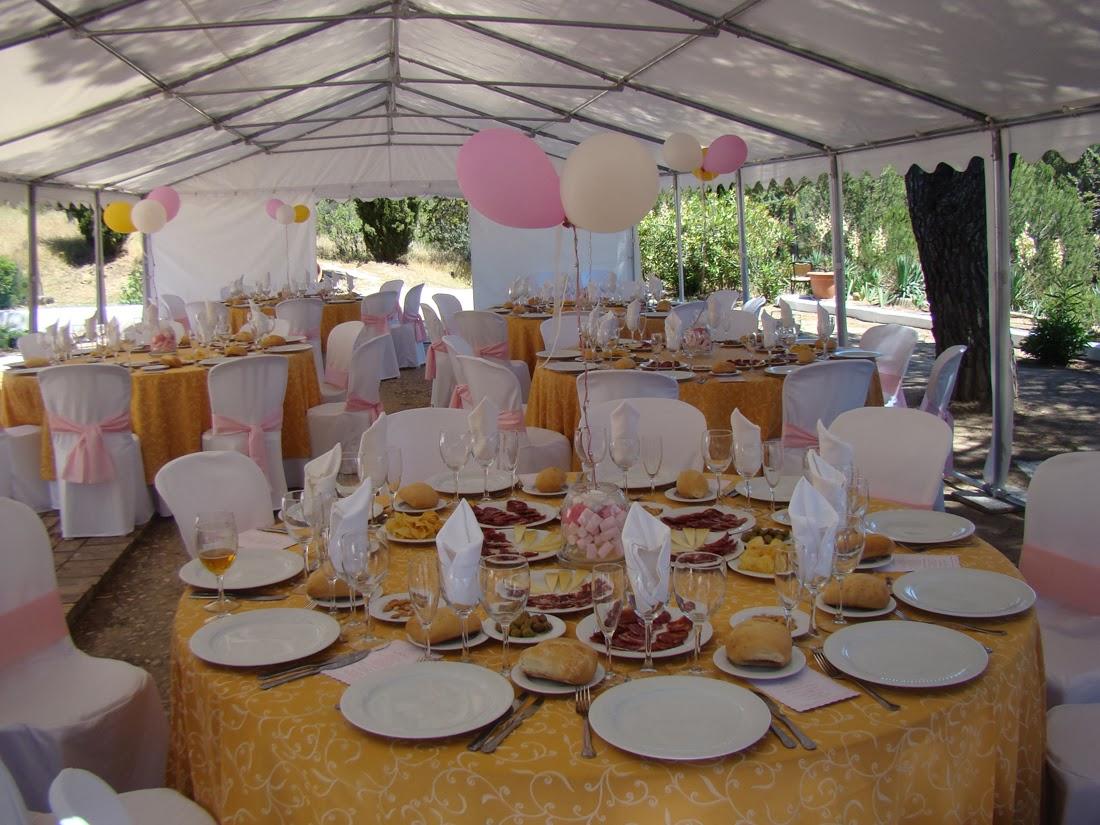 Pink artesanas galletas y tartas decoradas mesa dulce for Carpa comida