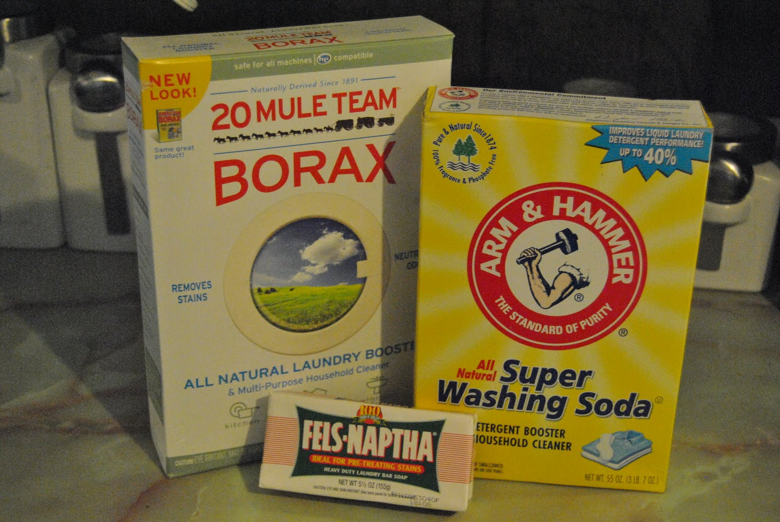 Owning Redemption How To Make Your Own Laundry Detergent